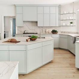 Los Altos Hills Tudor Kitchen