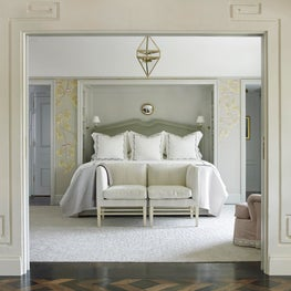 Master Bedroom with Greek Key Detail