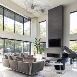 LA Residence Living Room