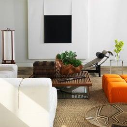 Glass House, Living Room, Family Room, Artwork