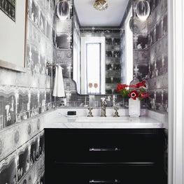 Powder Room worthy of an Aria