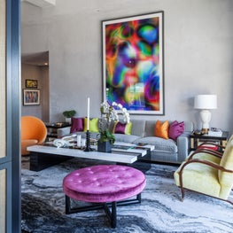 Jamie Drake's West Chelsea apartment is the realization of his personal vision.