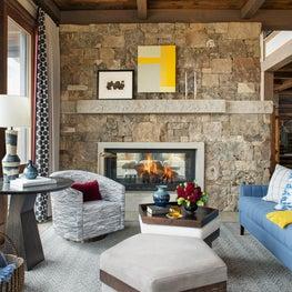 Yellowstone Club family room.