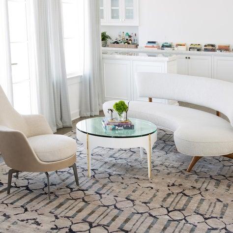 Manhattan Beach Project - Living Room