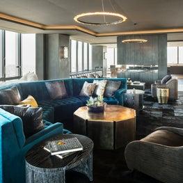 Modern Highrise- Living Room