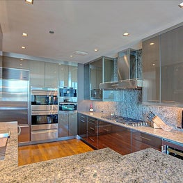 Ultra Modern Kitchen that is small however, has every luxury that everyone wants