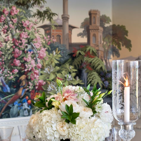 Dining Room Scenic Wallpaper