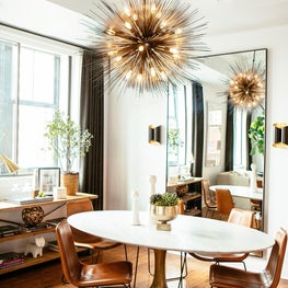 Contemporary Urban Dining Room