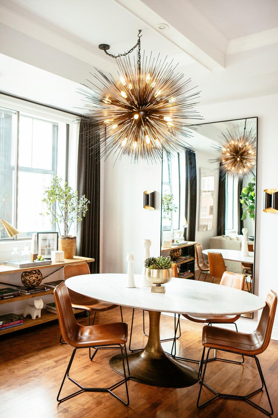 Contemporary Urban Dining Room