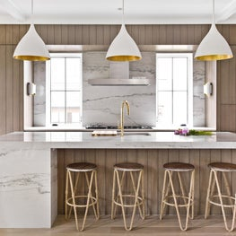 Brynn Olson Design Group - Hinsdale Modern Farmhouse - Kitchen
