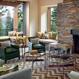 Martis Camp Residence Living Room