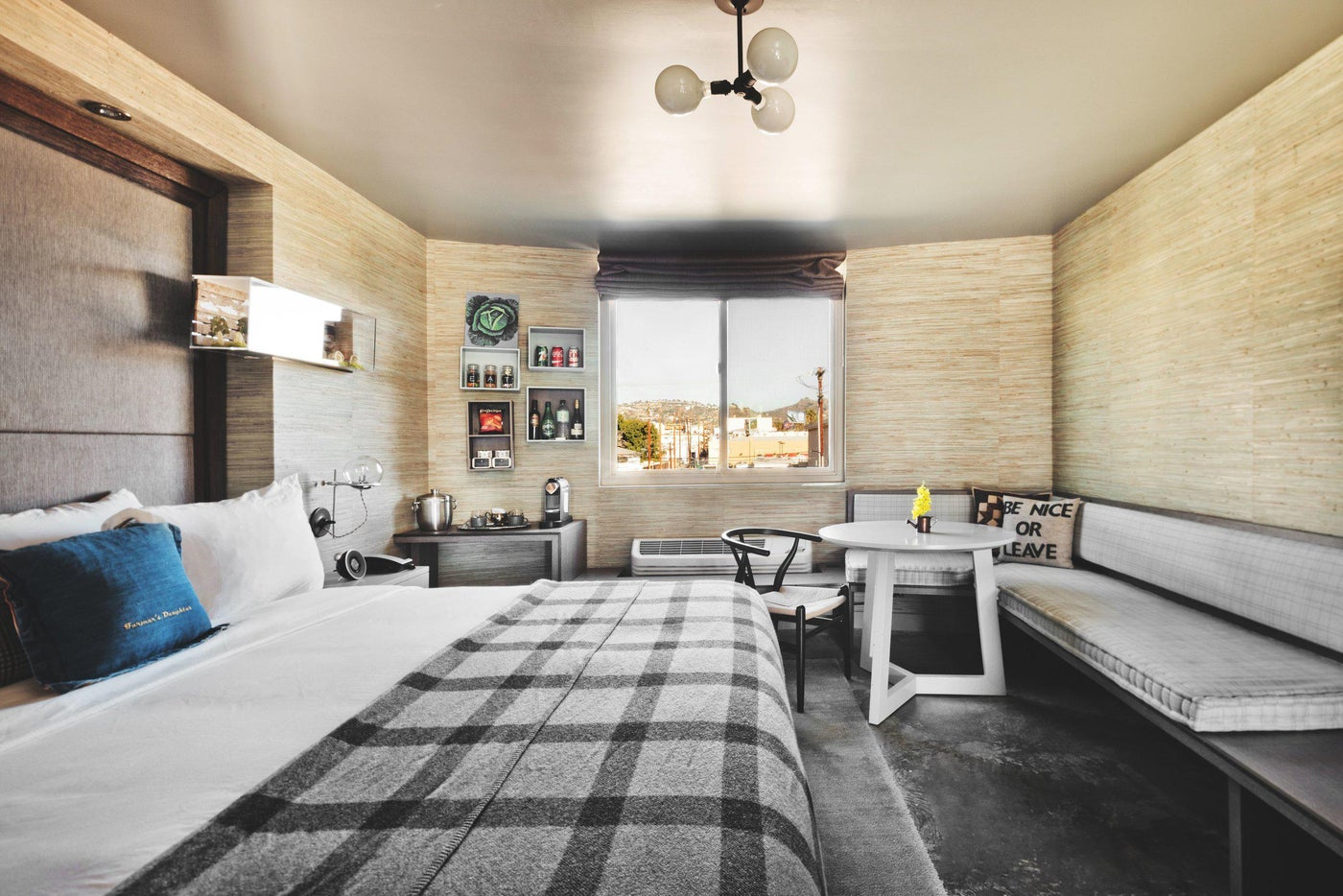 """Farmer's Daughter Hotel/ Iconic LA hotel gets a facelift for their """"Tack Rooms""""."""