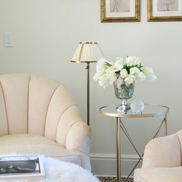 An Elegant Sitting Room Vignette