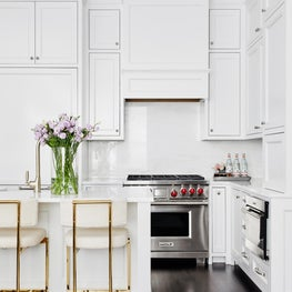 A Historic Boston Back Bay Brownstone Kitchen