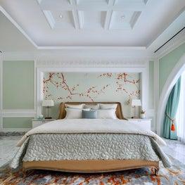 Deco Mansion, master bedroom