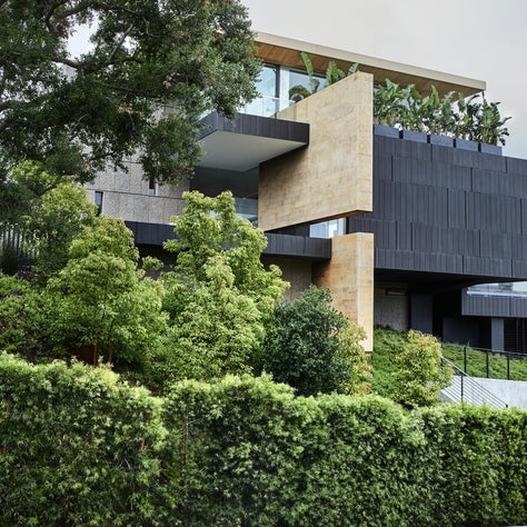 Bel Air Residence, 20,000 square feet residence located in Bel Air California