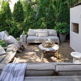 Greek Inspired Backyard Retreat