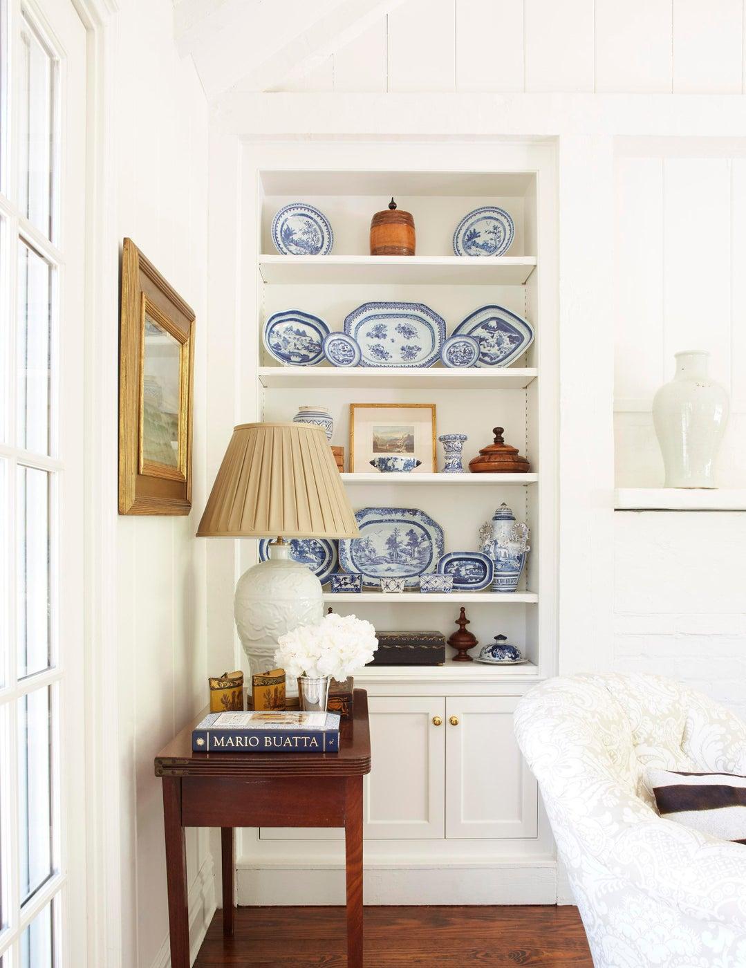 Long Island Living Room Vignette