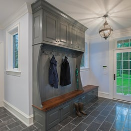 Country Custom Built Home with Belgian Blue Stone Floors and Lacquered Cabinetry