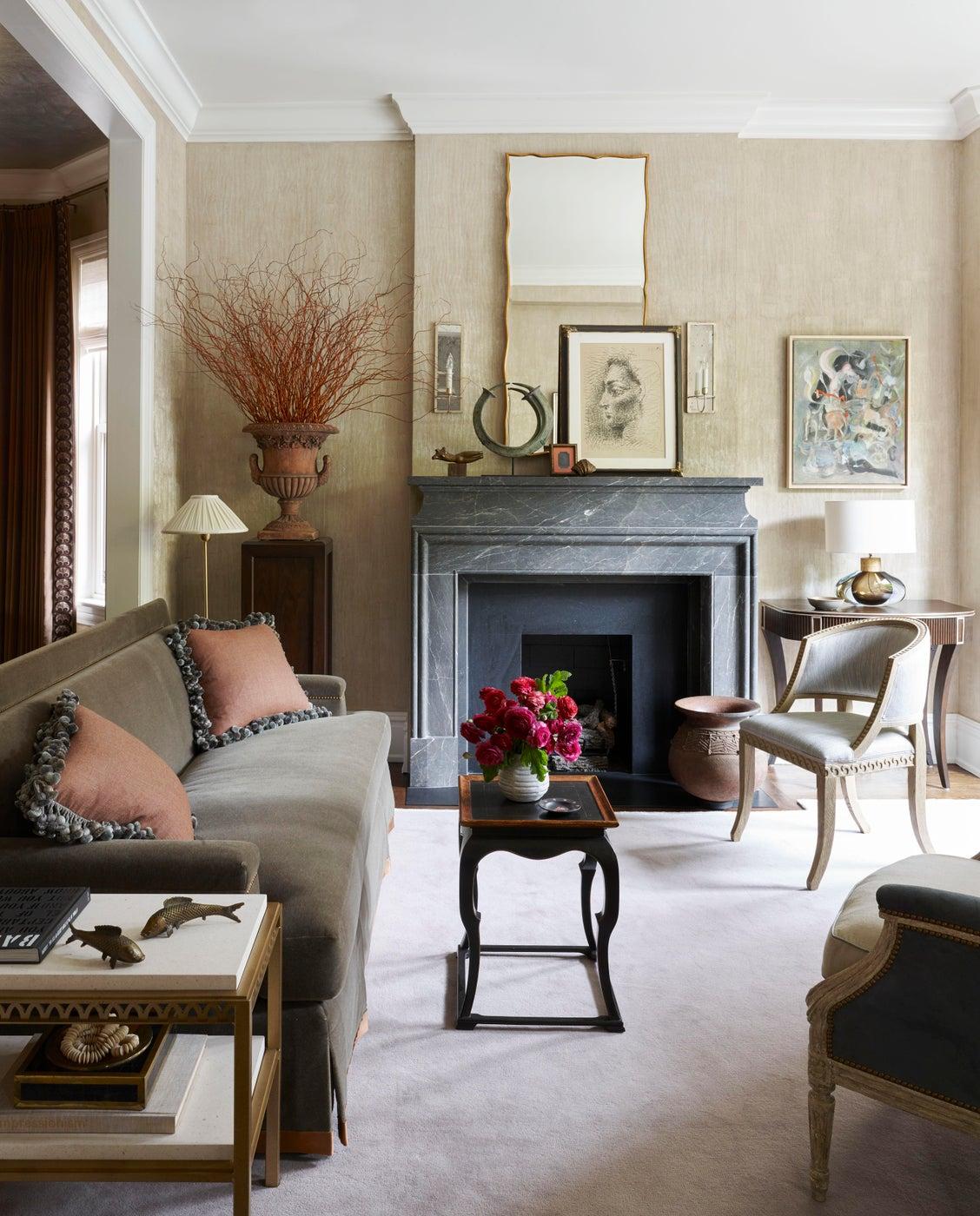 Living Room/Music Salon - single family home.