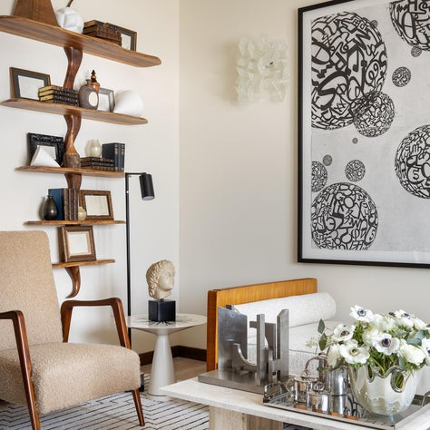 A mix of my own collection featured in Aspire House Princeton