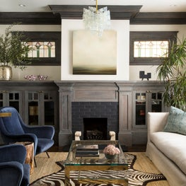 Oakland Hills living room