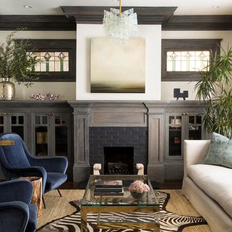 Oakland Hills living room