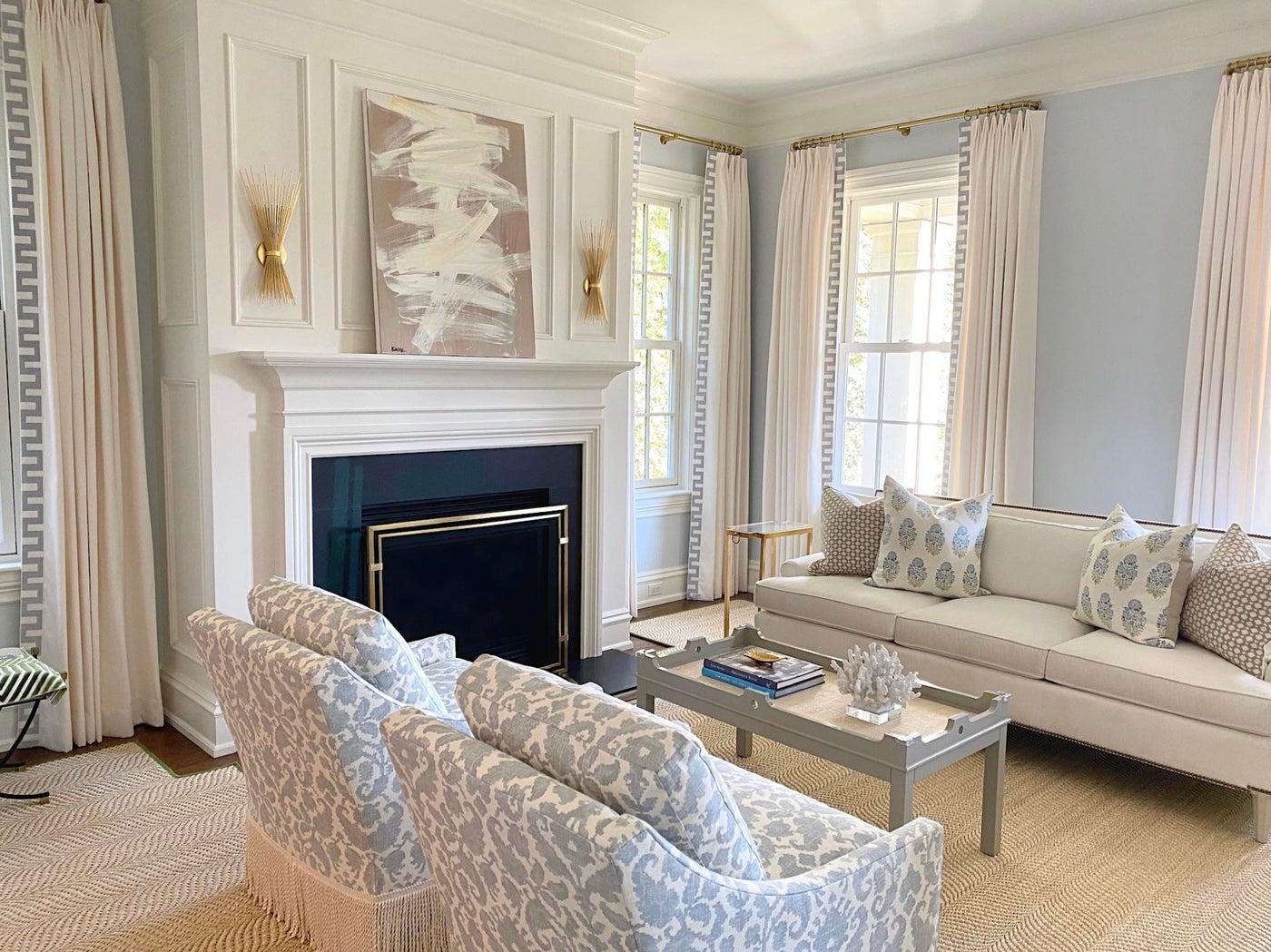 Sweet and Serene Living Room