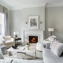 Boston Renovated Back Bay Residence, DMitriy Furniture, Finelines Draperies