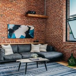 Custom Sofa in Living Room