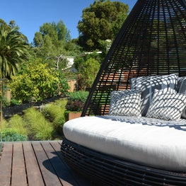 Daybed Lounge Wooden Deck