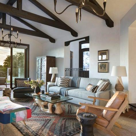 La Jolla grand living room