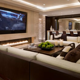 Willoughby Way Entertainment Room by Charles Cunniffe Architects
