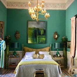 Colonial Master Bedroom in Merida