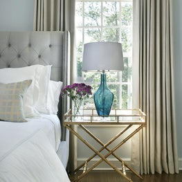 Guest Bedroom Retreat with custom details