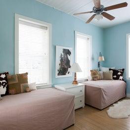 LBJ's Mother's Childhood Home - Kid's Room