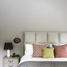 Barnes, London - Master Bedroom in calming neutral colours