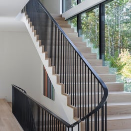 Old Sag Harbor Road Staircase