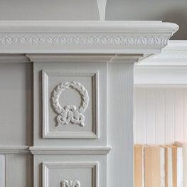 Marina Residence: Fireplace Detail