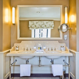 Bathroom in a country house hotel in The Cotswolds