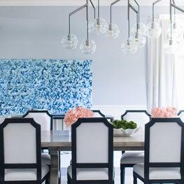 Modern Dining Room Winnetka Residence
