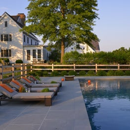 Poolside Retreat in Bedford, NY