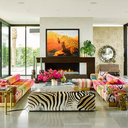 Living Room in Palm Springs Residential