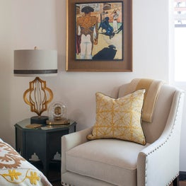 Spanish Style Bedroom Sitting Area