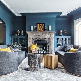 Firehouse Family House: Living Room