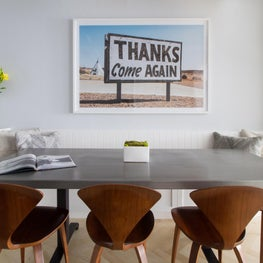 NYC Western Inspired Breakfast Room