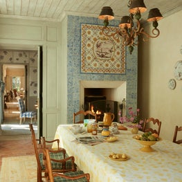 A kitchen from a French farmhouse