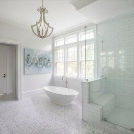 Daniel Island Master Bathroom