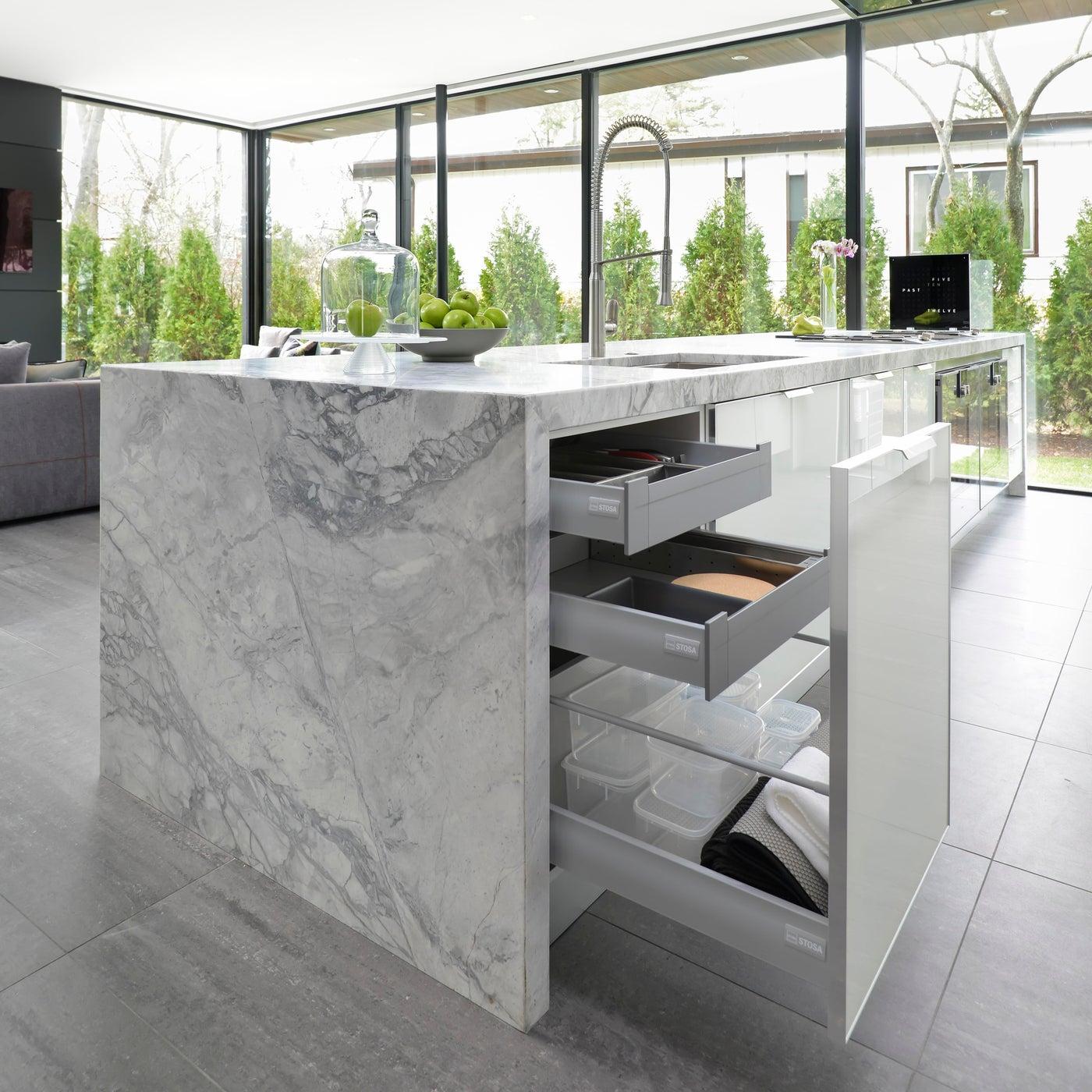 Highland Park Modern, Kitchen Storage