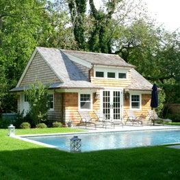 Southampton, NY Pool House